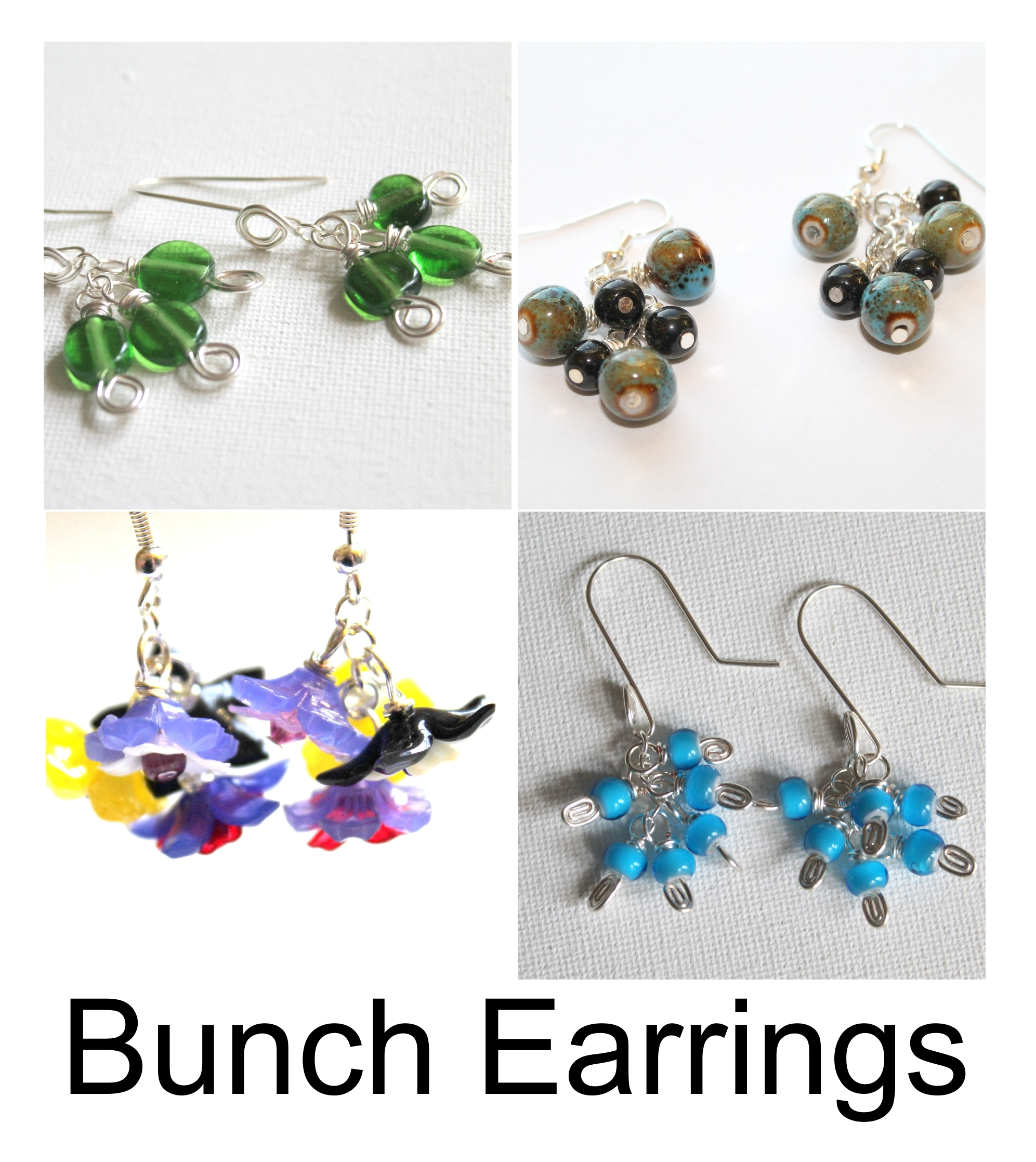 Bunch Earrings Pattern