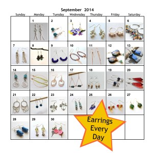 Earrings Every Day Month