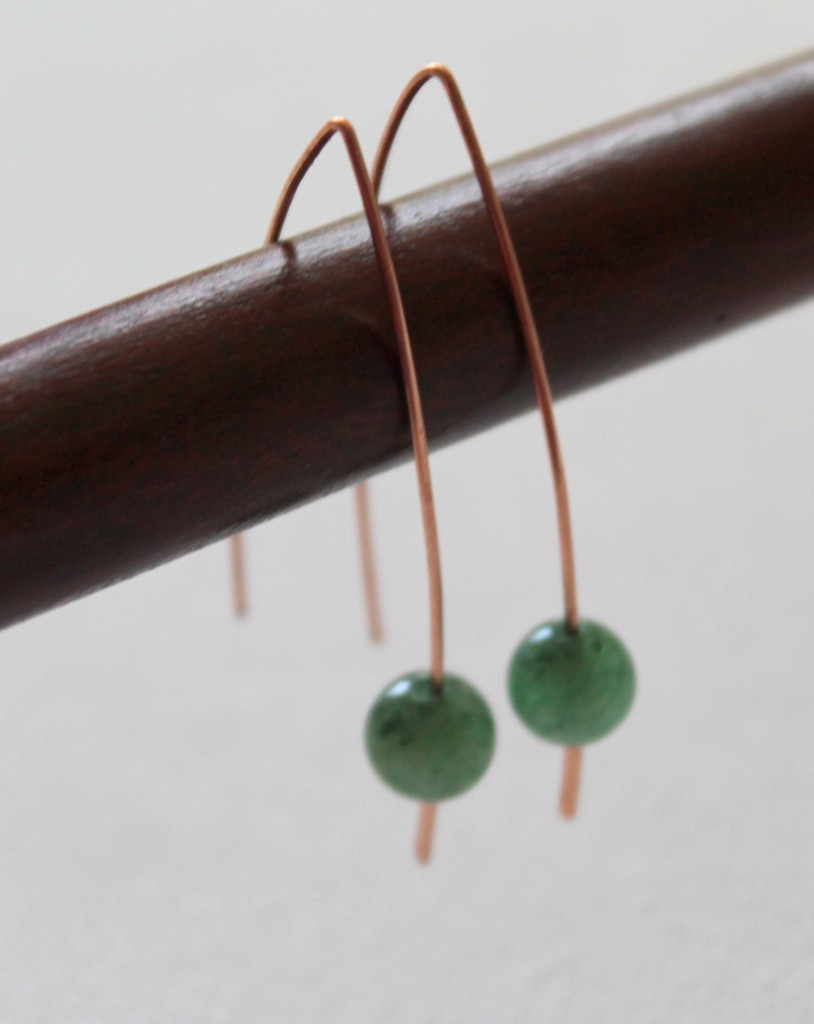 Quick and Easy Wire Earrings