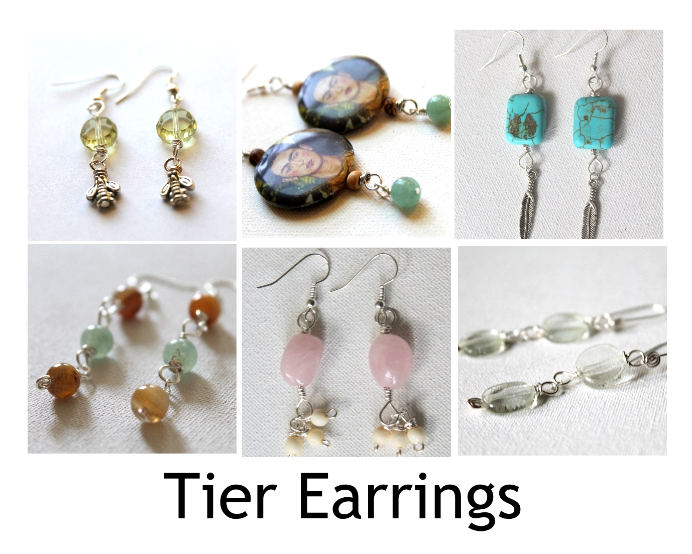Tier Earrings Pattern