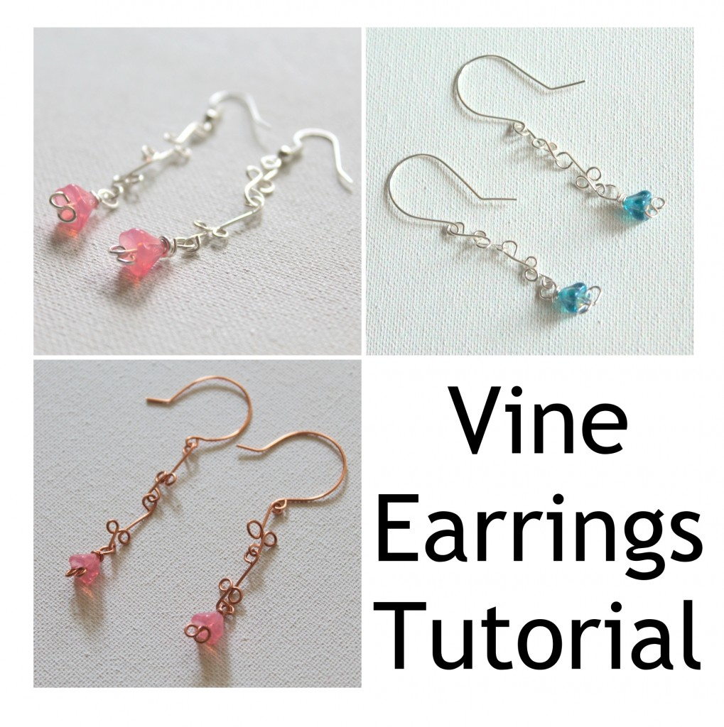 Vine Earrings Tutorial