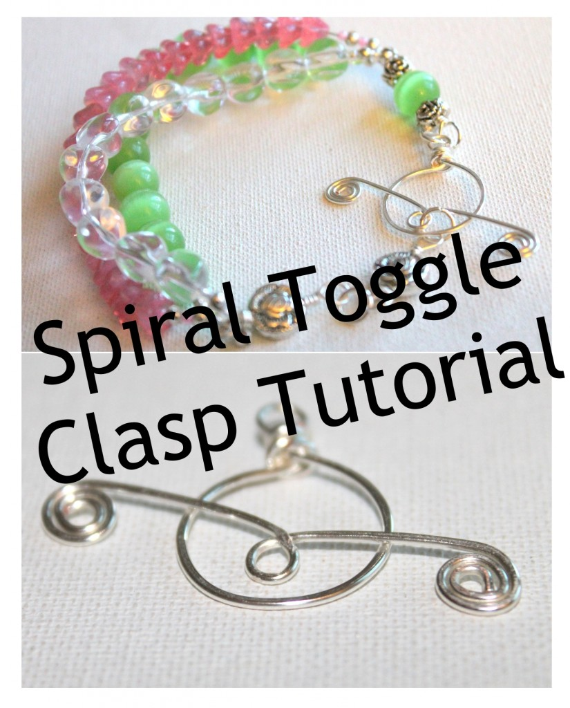 Spiral Toggle Clasp
