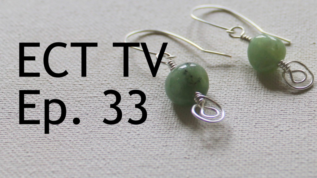 ECT TV Episode 33:  How to Make Ornate Headpins & Earrings