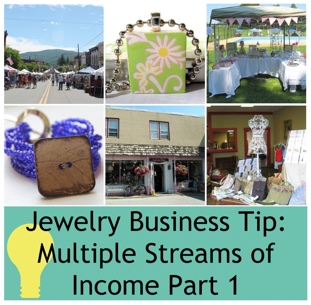 Jewelry Business Tip - Multiple Income Streams Part 1