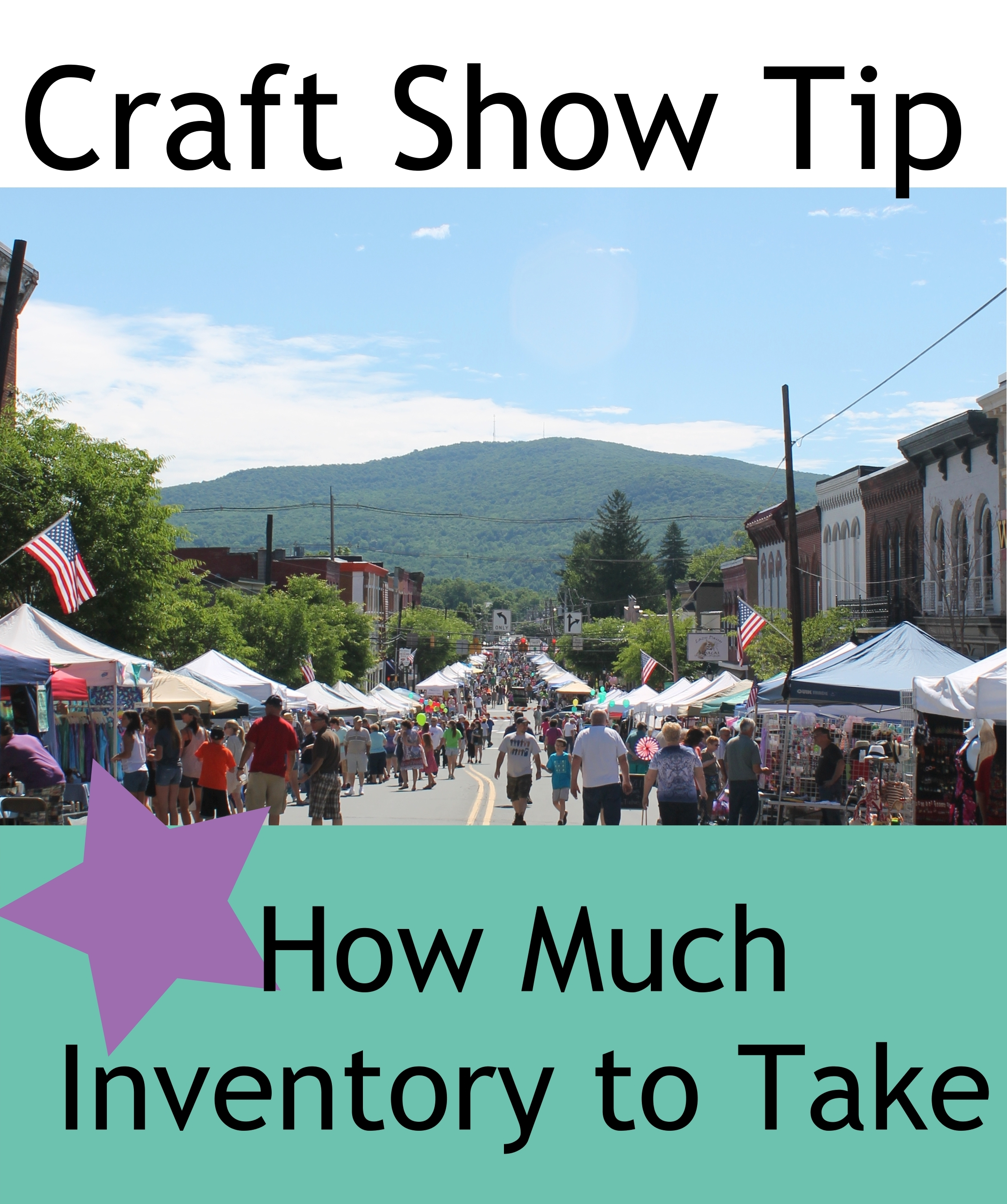 Craft Show Tip: How Much Inventory To Take To Shows