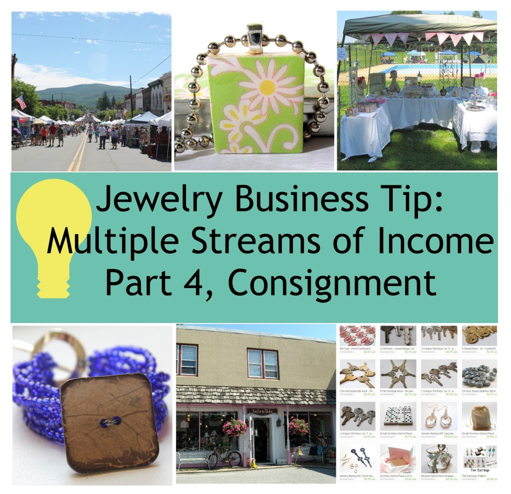 Jewelry Business Tip - Multiple Income Streams Part 4, Consignment
