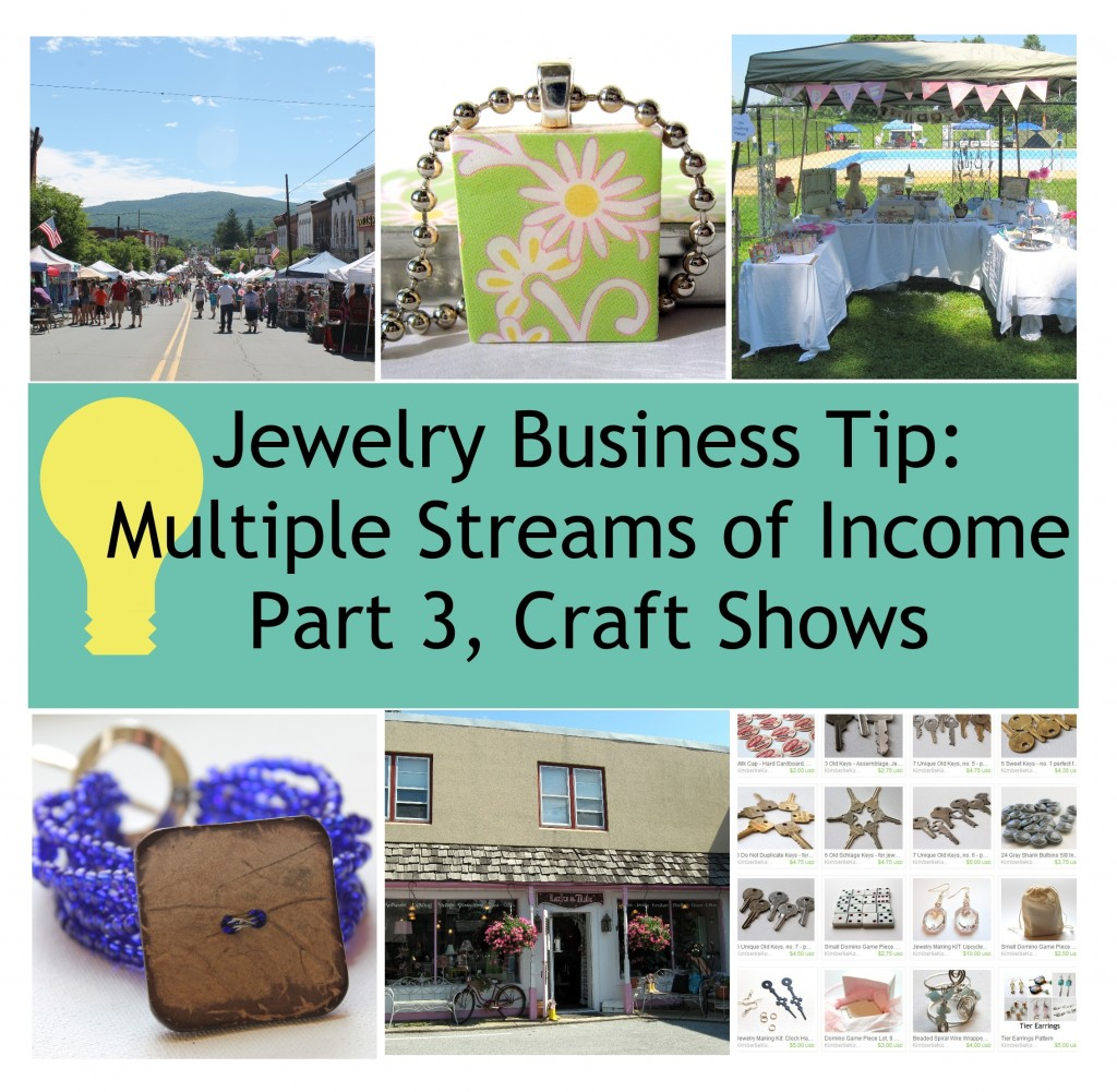 Jewelry Business Tip - Multiple Streams of Income Part 3
