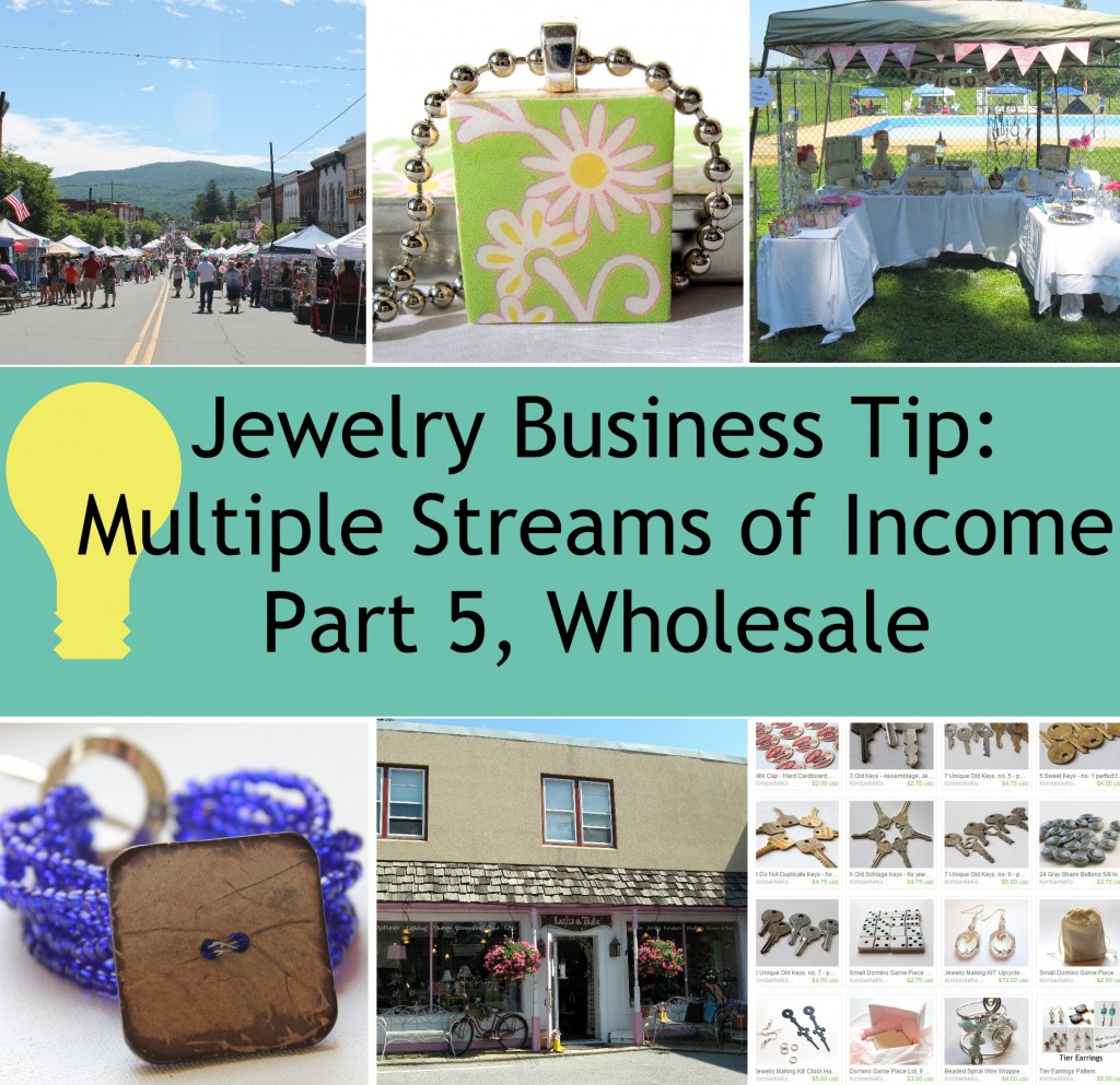 Jewelry Business Tip - Multiple Streams of Income Part 5, Wholesale
