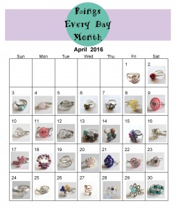 Rings Every Day Month 2016