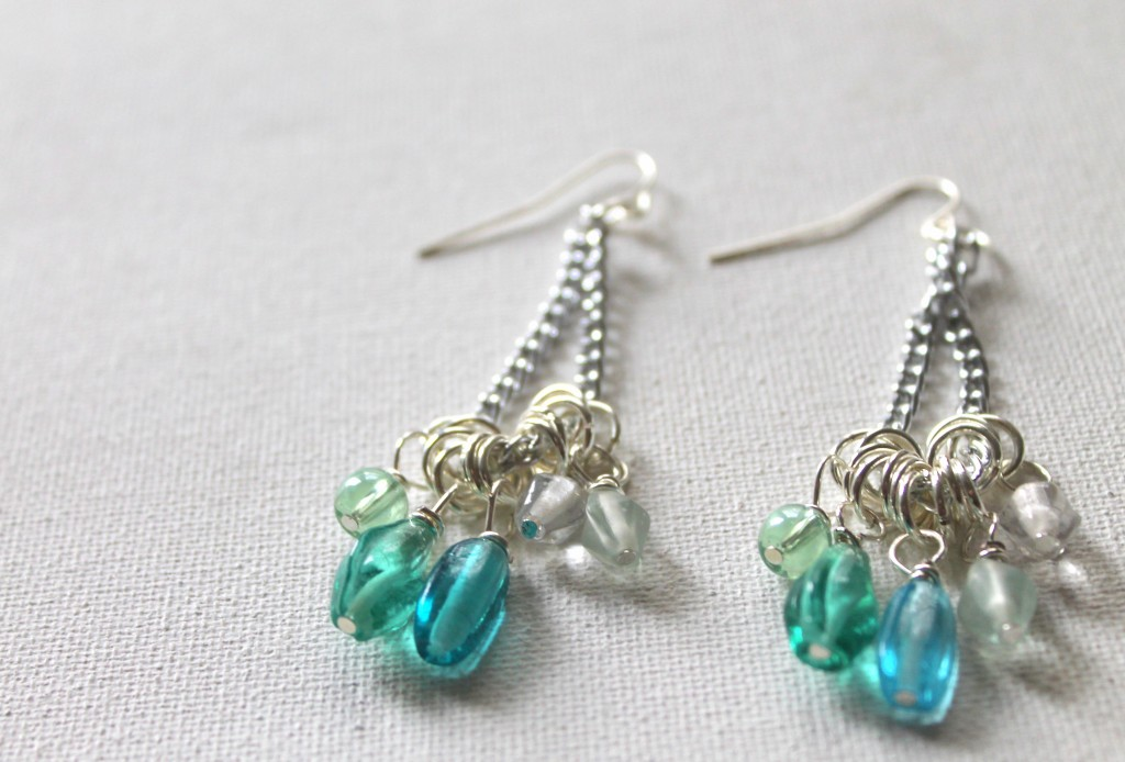 ECT TV Episode 39:  Ombre Bead Dangle Earrings