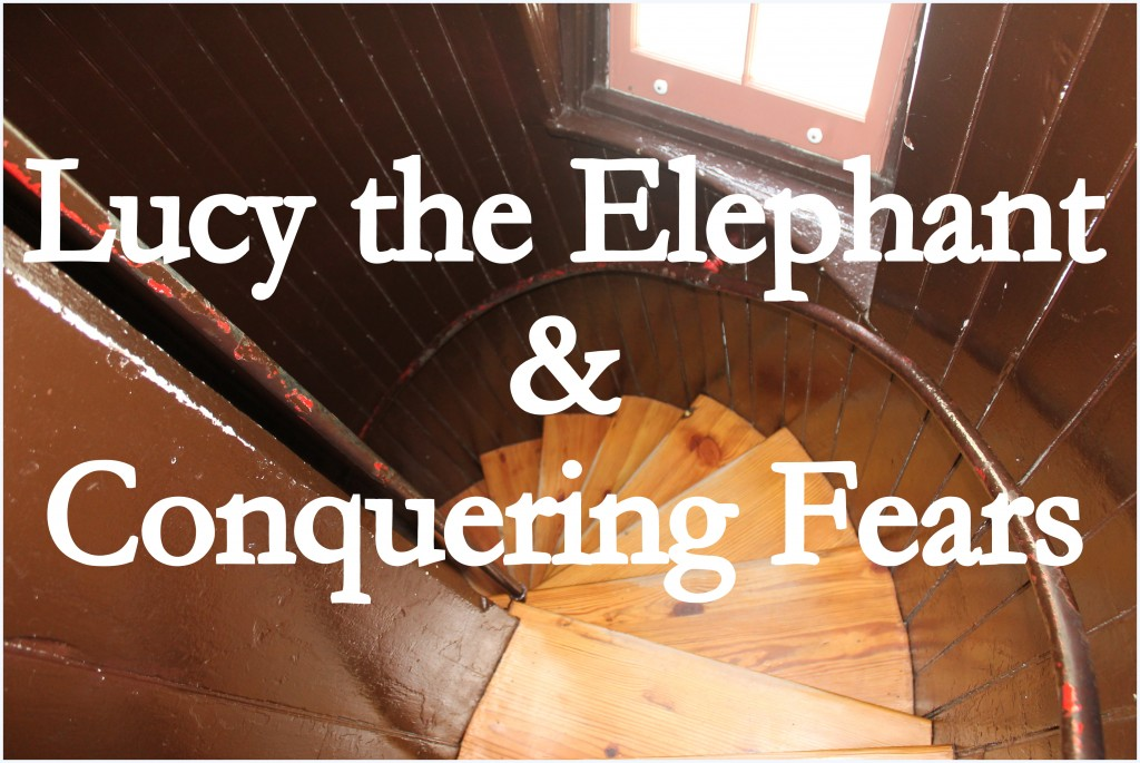 Lucy the elphant and Conquering Fears