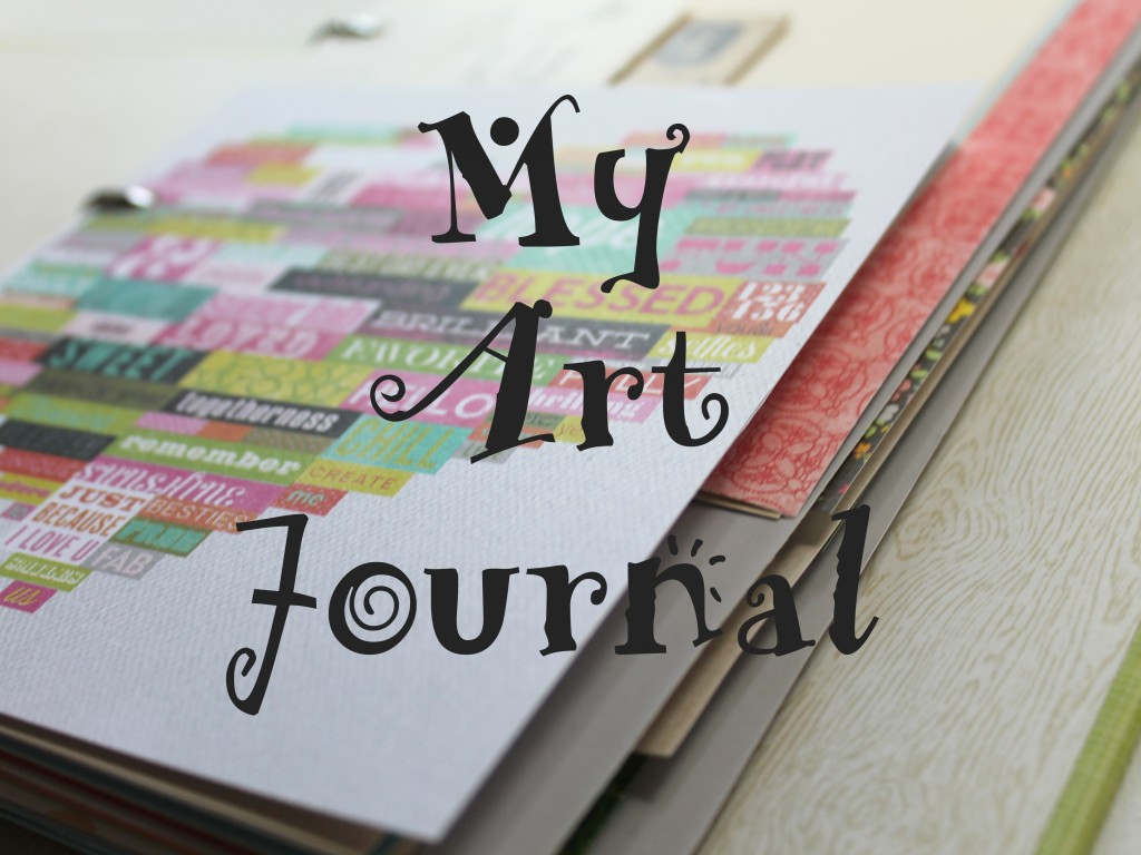 Art Journal made with Binder