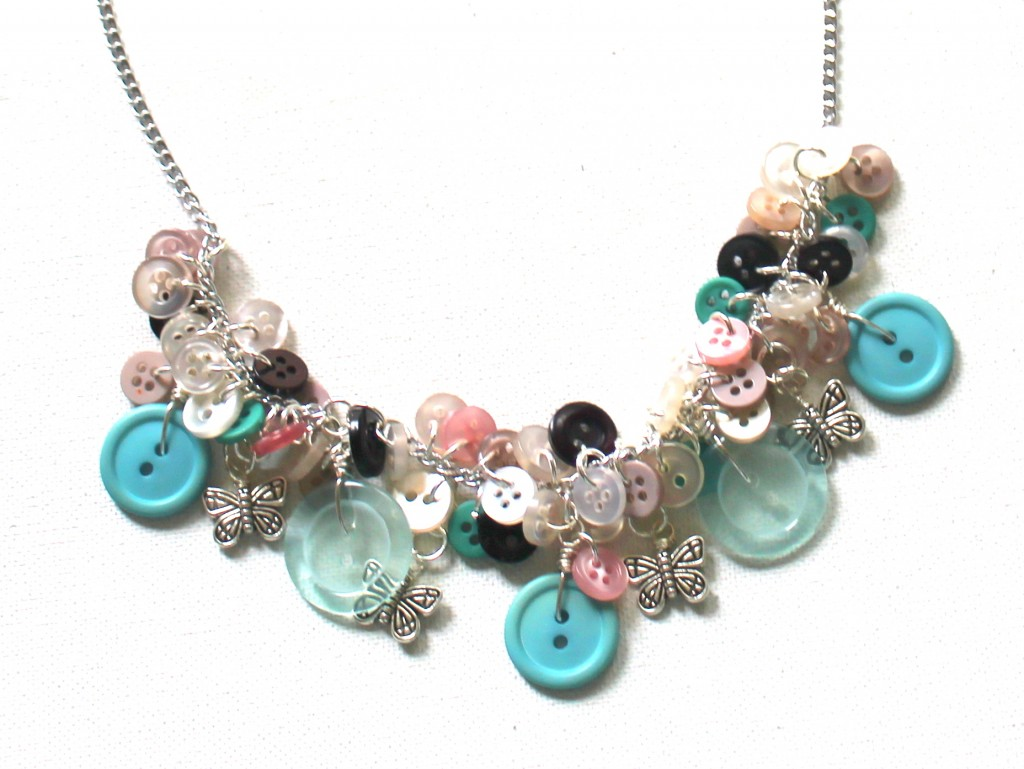 ECT TV Episode 43:  Buttons and Butterflies Necklace