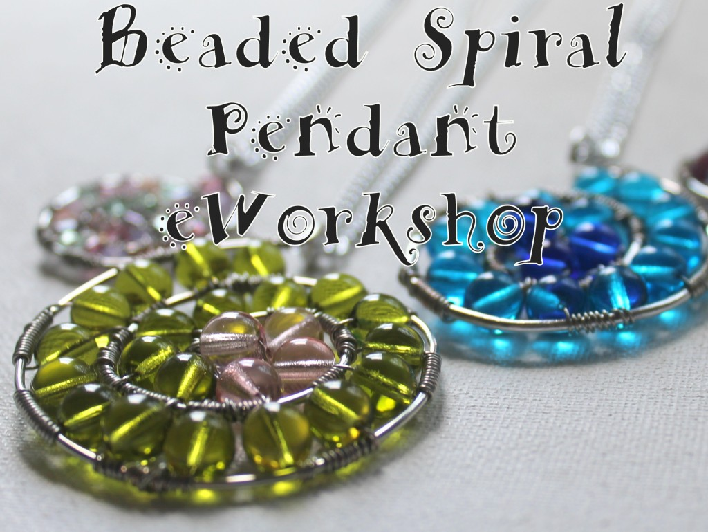 Beaded Spiral Pendant eWorkshop