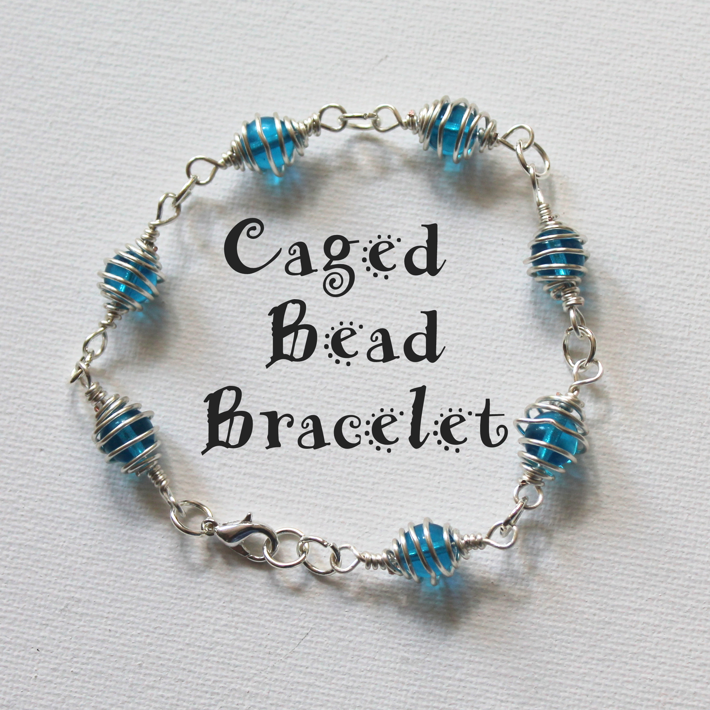 How to Make a Caged Bead Bracelet | Emerging Creatively Jewelry ...