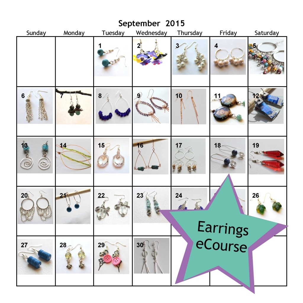 Earrings eCourse 2015