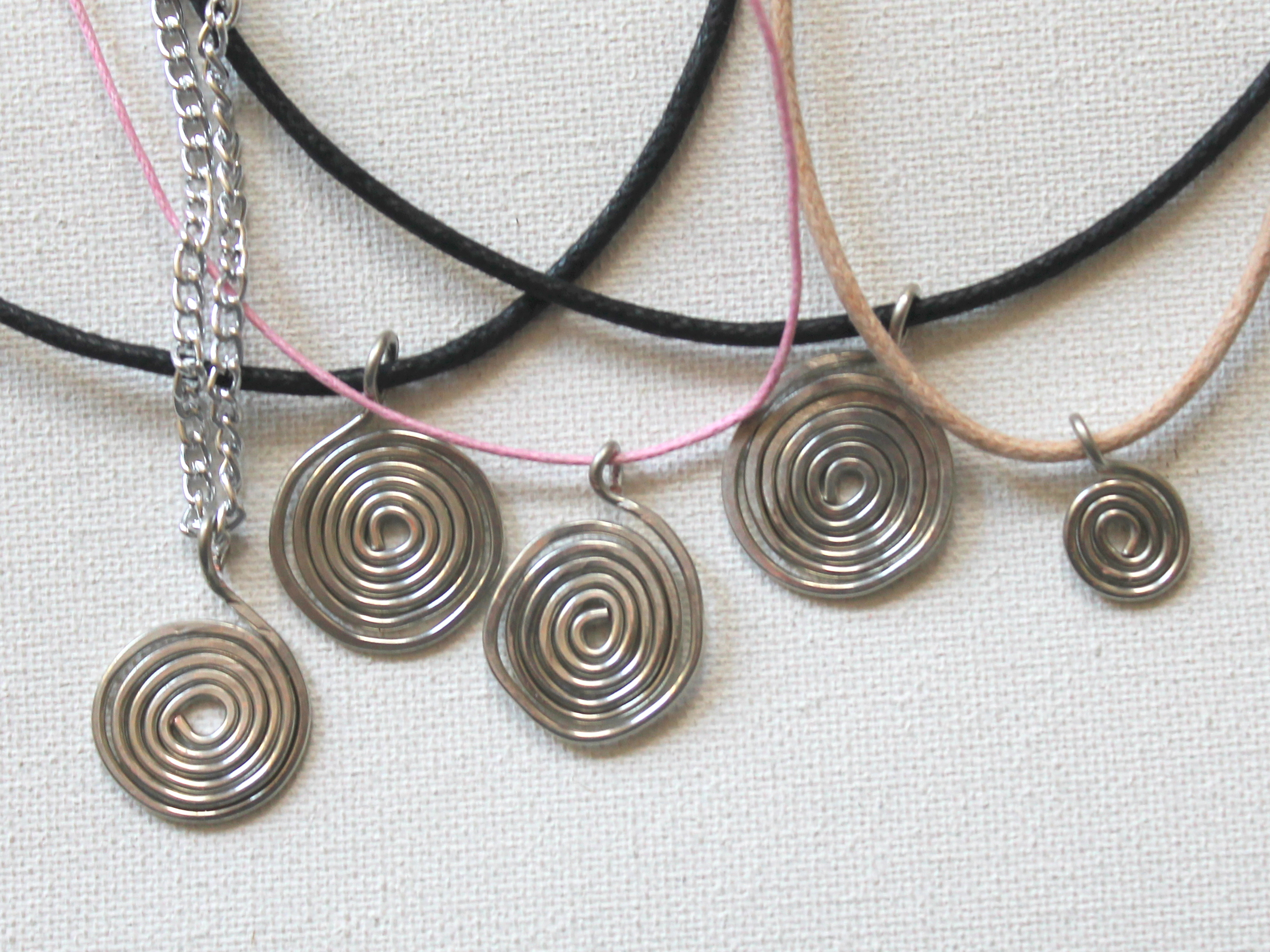 pendant wire jewelry ect episode creatively img a tv spiral emerging