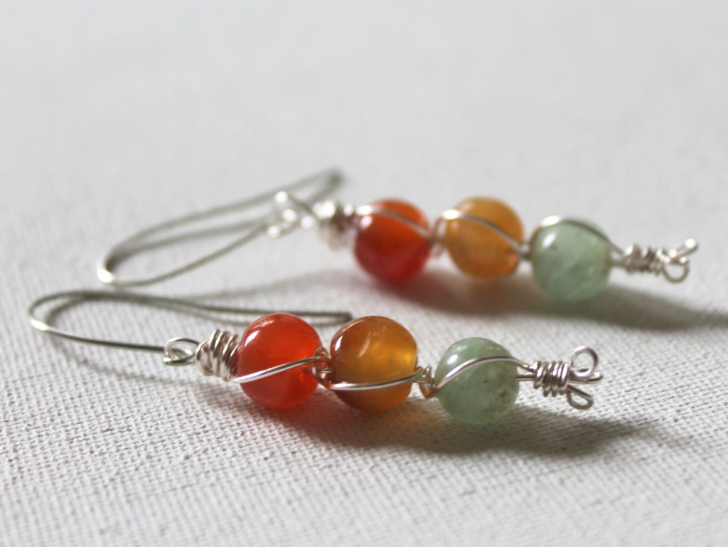 Wire Weaved Earrings