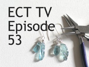 ECT TV Episode 53: Sided Drilled Beaded Earrings