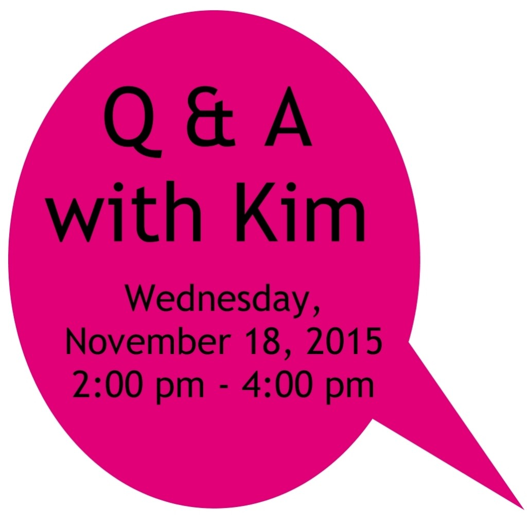 Q & A with Kim