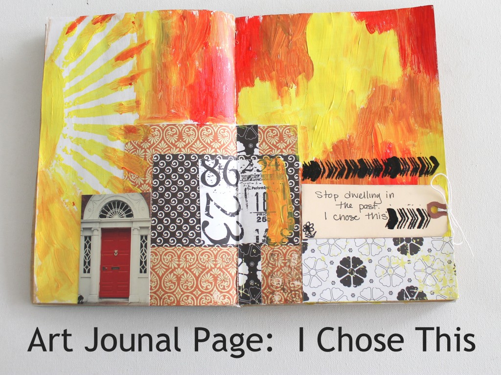 Art Journal Page:  I Chose This