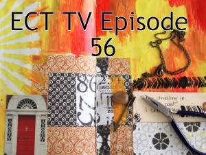 ECT TV Episode 56: Make a Simple Necklace from Art Journal Inspiration