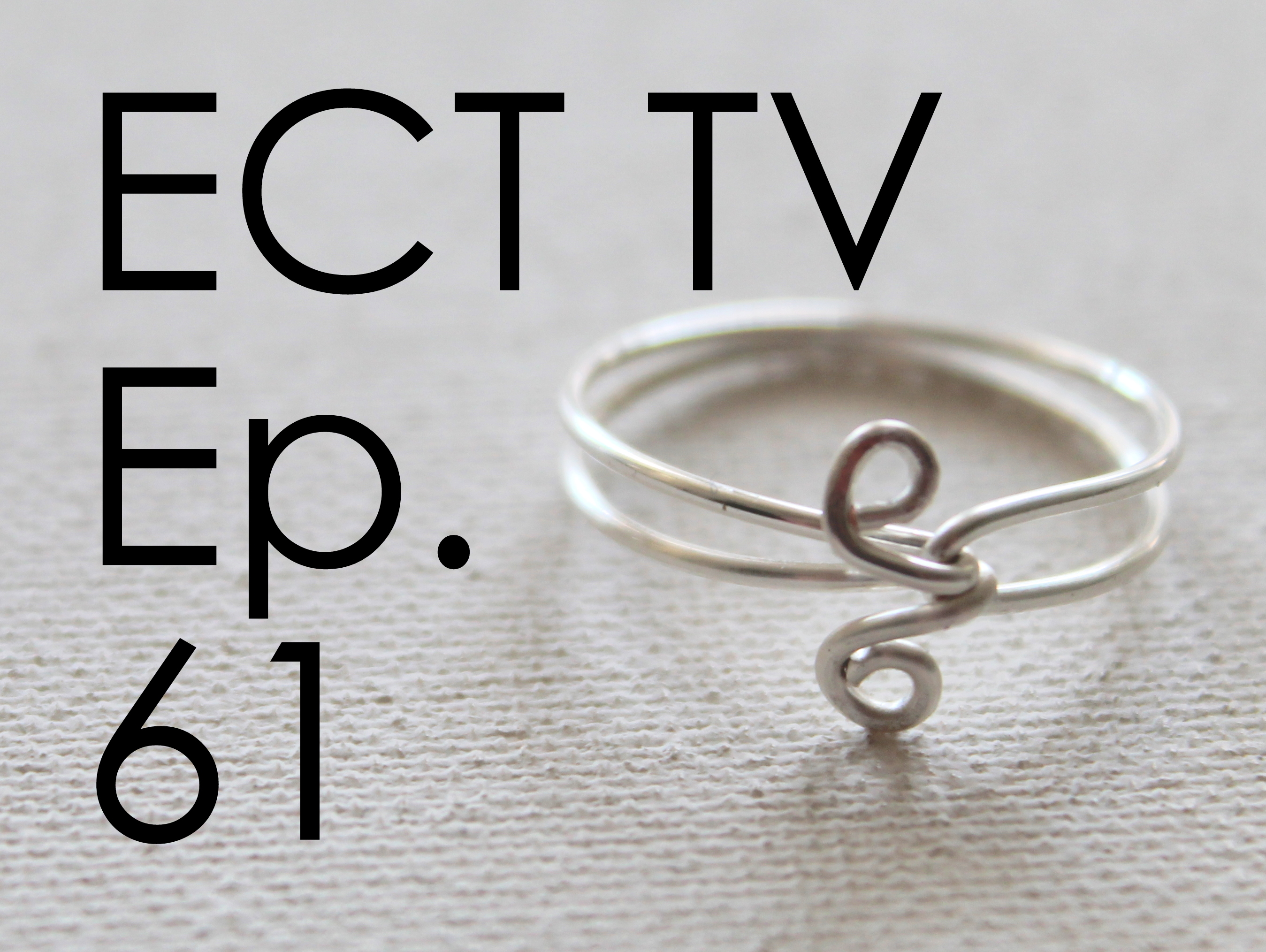 wire wrapped ring | Emerging Creatively Jewelry Tutorials