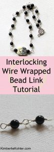ECT TV Episode 63: Interlocking Wire Wrapped Bead Link Necklace