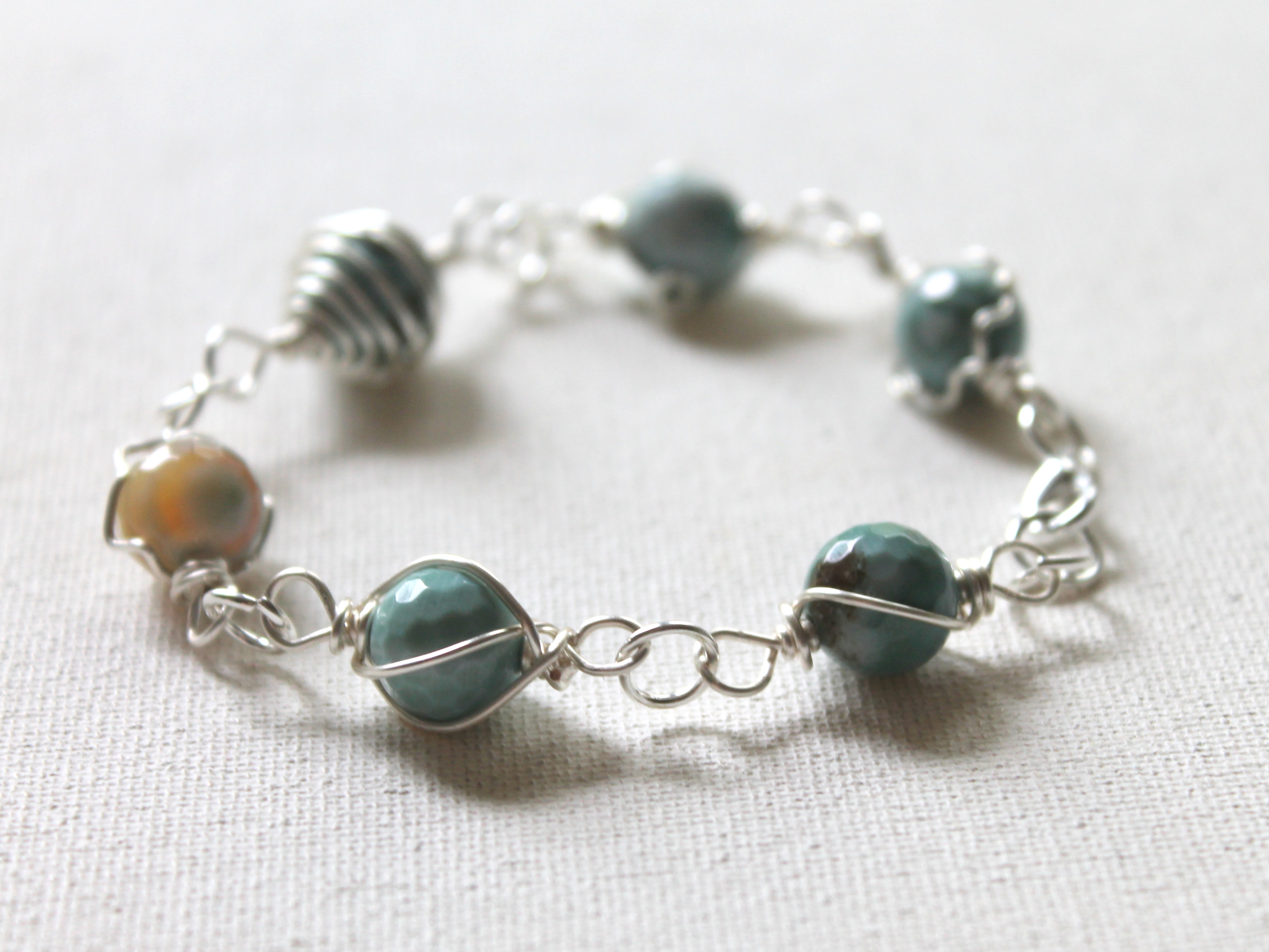 Decorative Wire Wrapped Bracelet eWorkshop