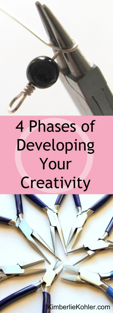 4 Phases of Developing Your Creativity