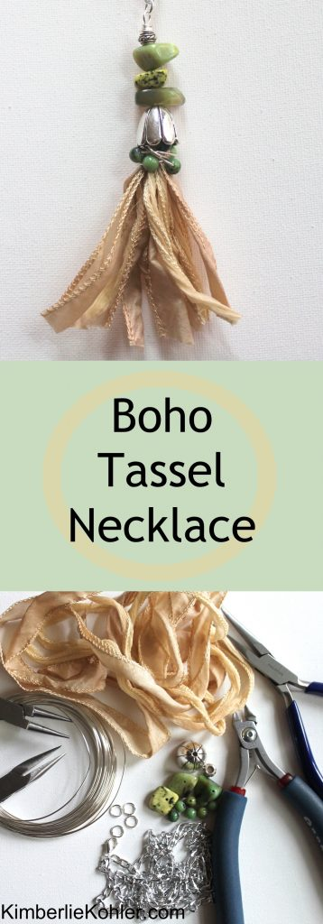 Boho Tassel Necklace Tutorial