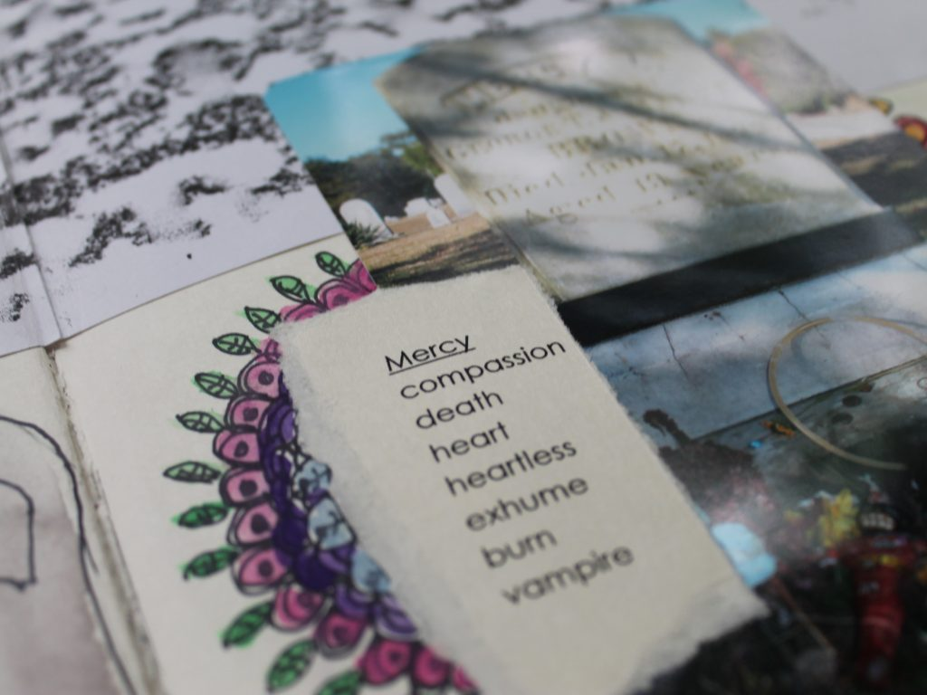 Mercy Art Journal Page