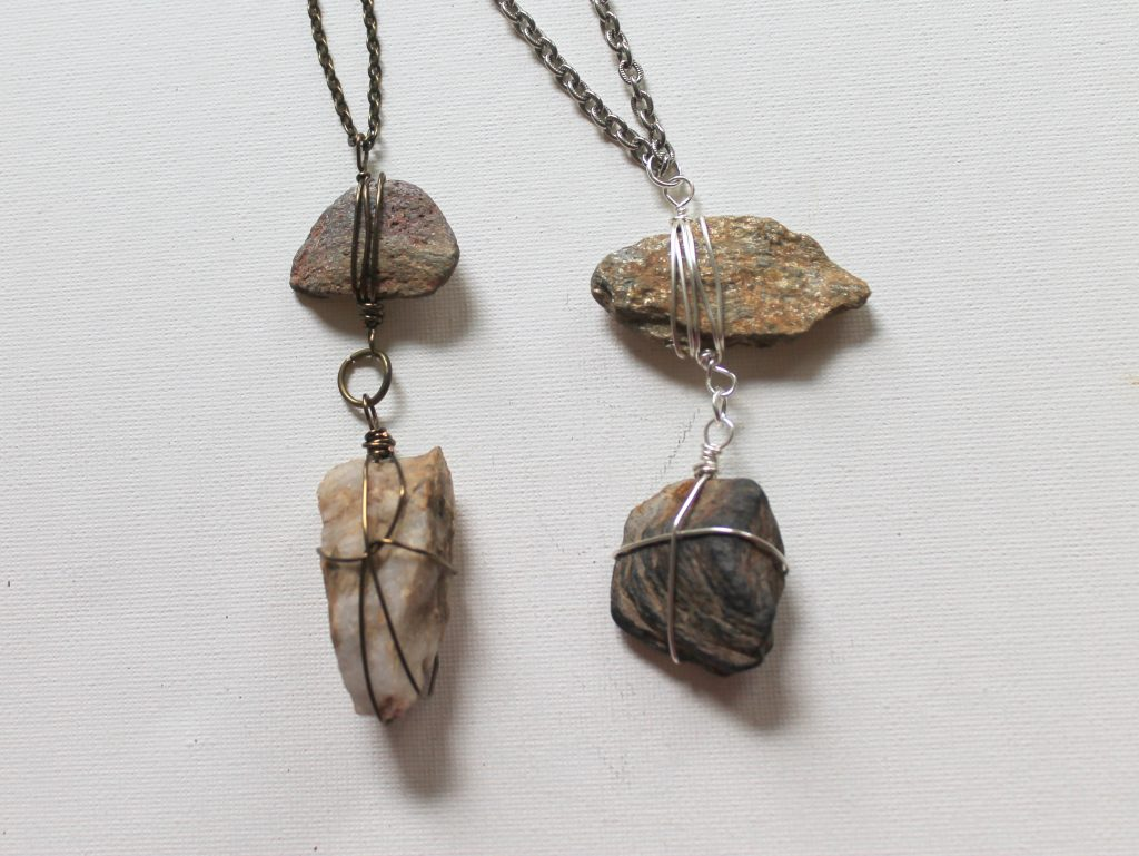 Rock Pendant Necklace