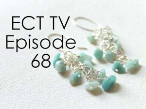 ECT TV Episode 68: Gemstone Chip Bunch Earrings