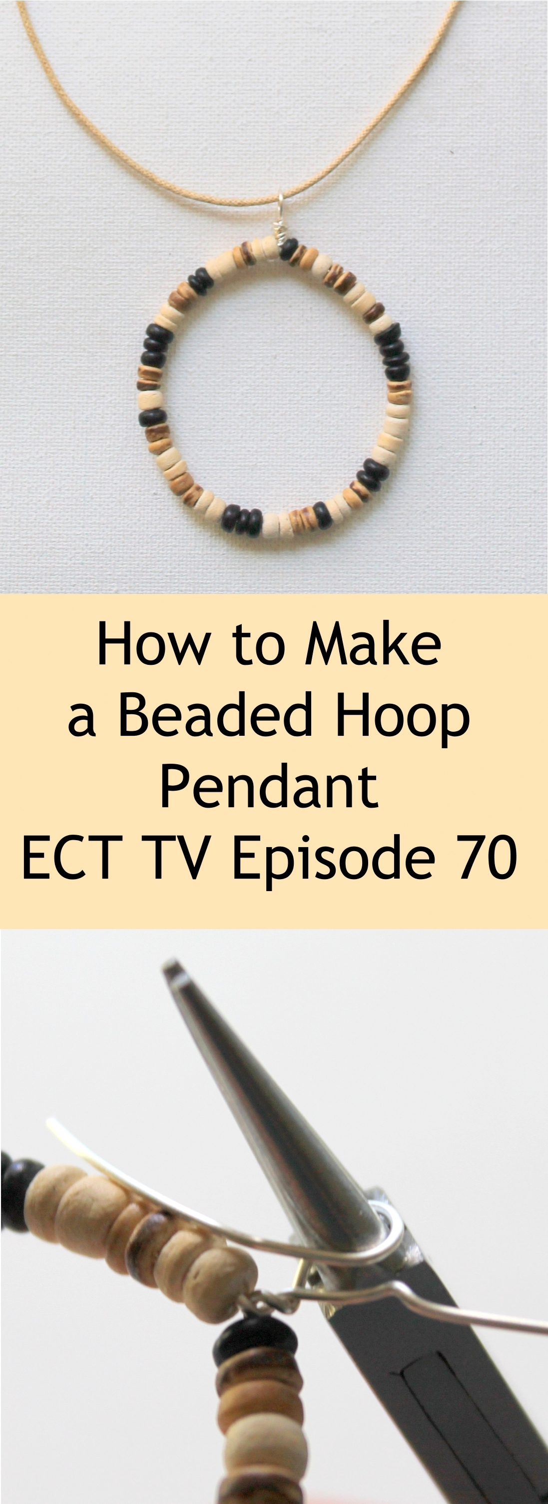 ECT TV Episode 70: Beaded Hoop Pendant Tutorial