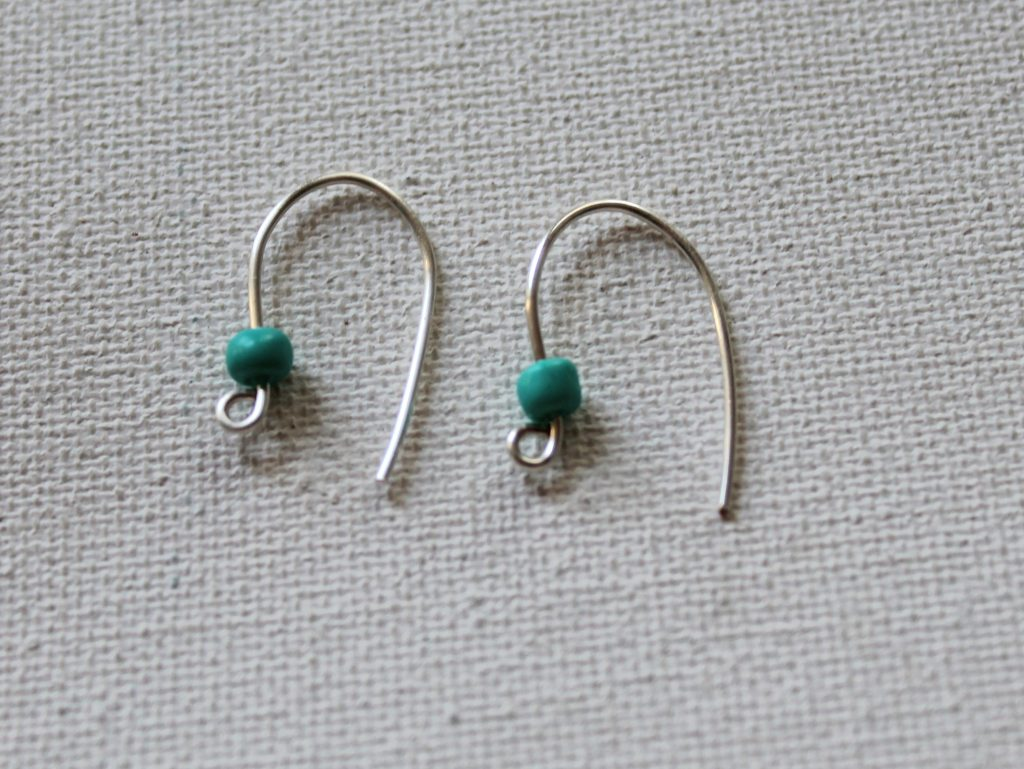 Earring Wires with Beads