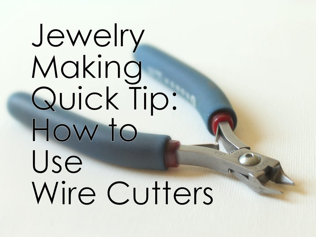 Using Wire Cutters