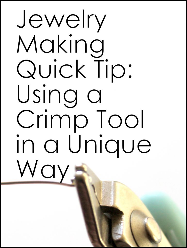 Quick Tip: Crimp Tool