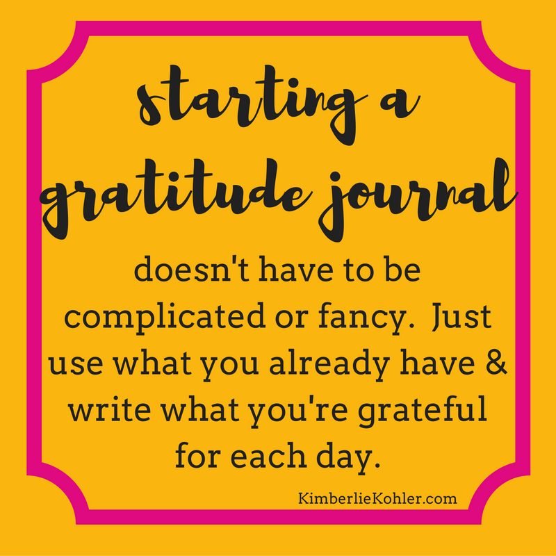 starting-a-gratitude-journal