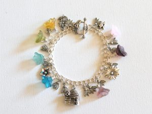 Ode to Bees Charm Bracelet