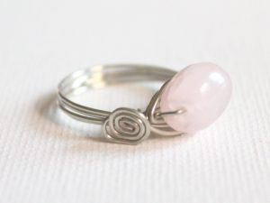 Bead Ring with Side Spirals
