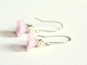 Side Drilled Bead Earrings