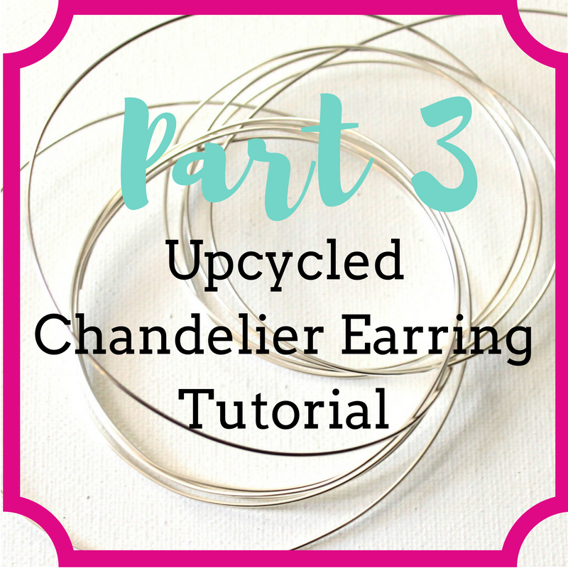 ECT TV Episode 77: How to Wire Wrap Upcycled Chandelier Crystals