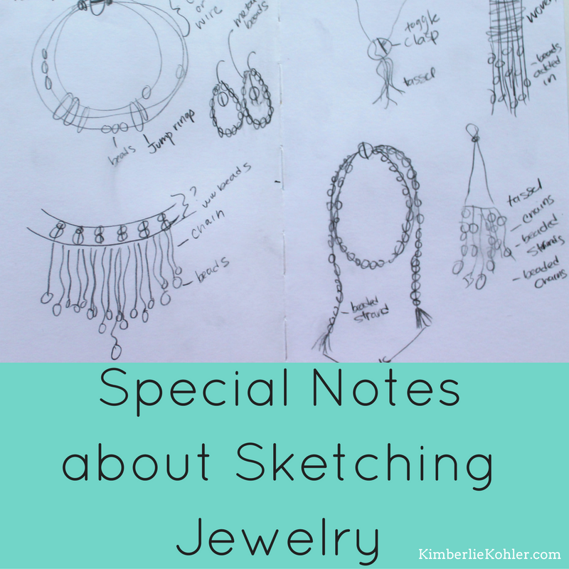 Sketching Jewelry Designs