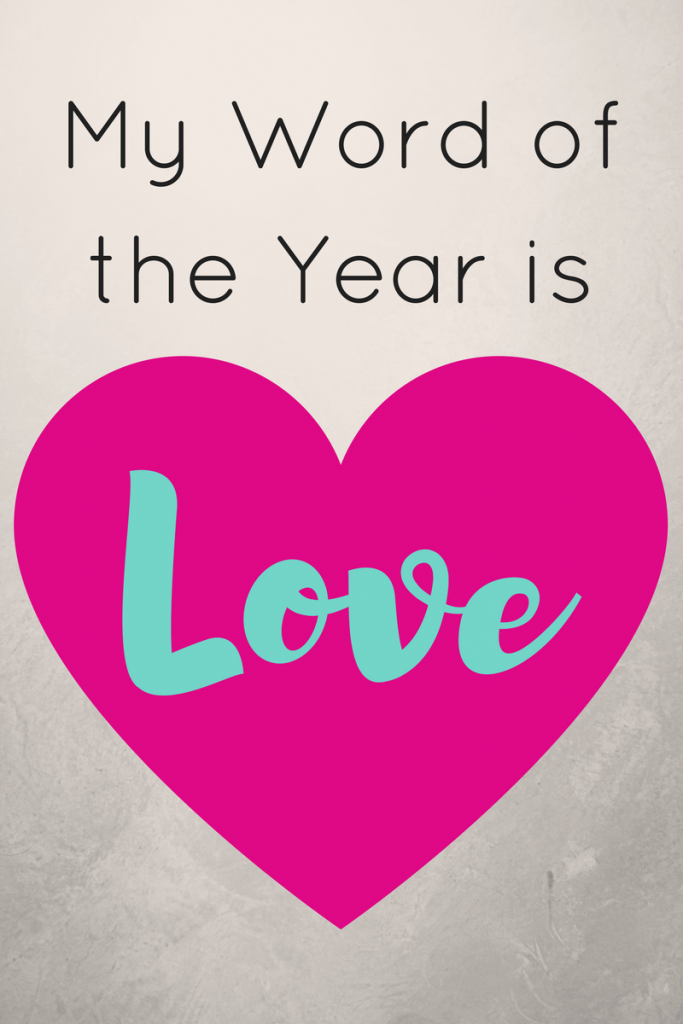 My Word of the Year is . . .
