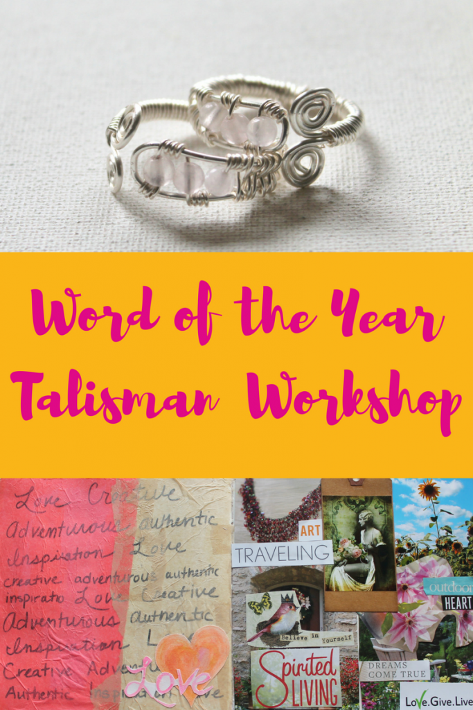 Word of the Year Talisman Workshop