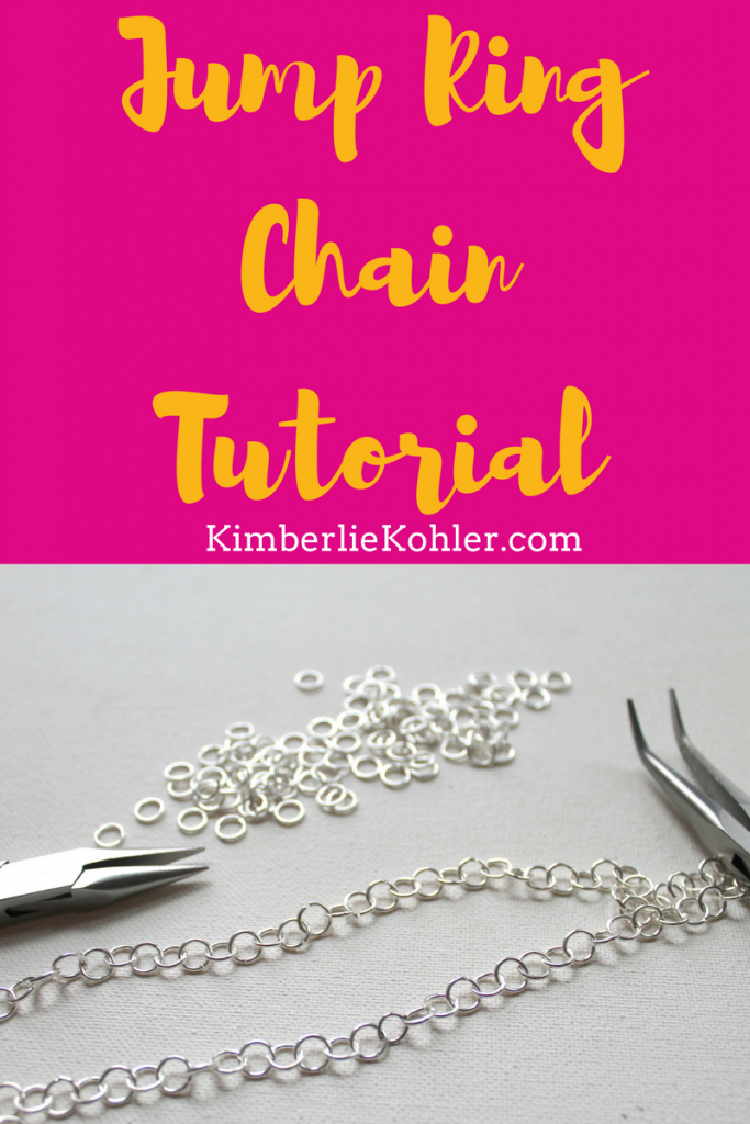 Jump Ring Chain Tutorial