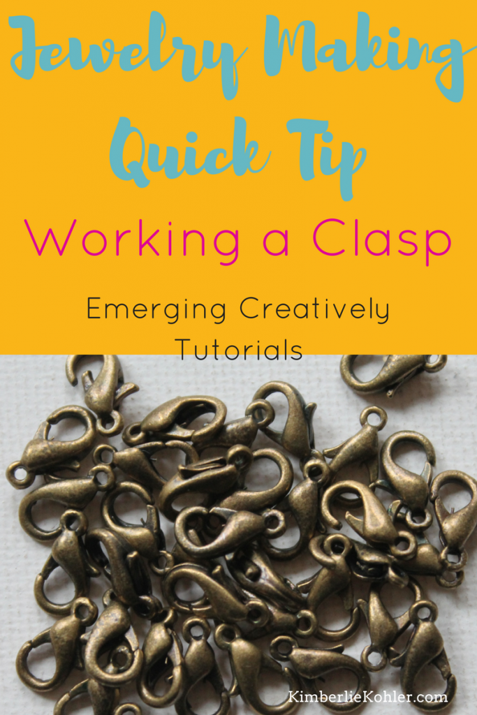 Jewelry Making Quick Tip: Working a Clasp Long