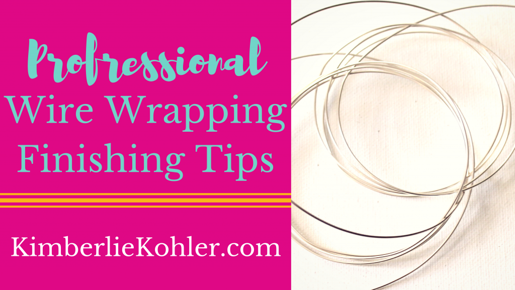 Pro Wire Wrapping Finishing Tips