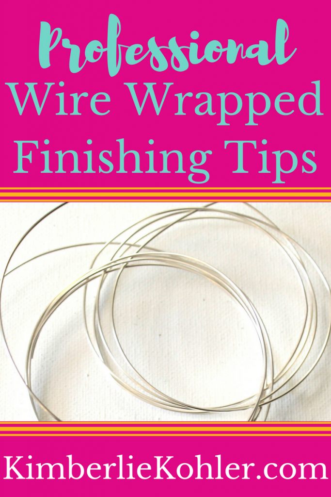 Professional Wire Wrapped Finishing Tips